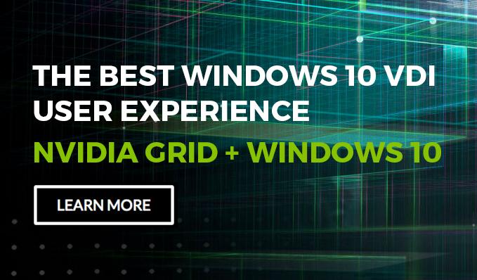 nvidia windows 10 vdi button